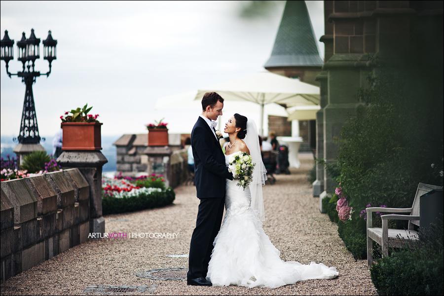 Als Hochzeitsfotos in Königswinter