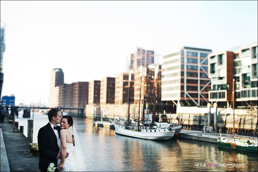 Hochzeitsreportage in Hamburg Hafencity