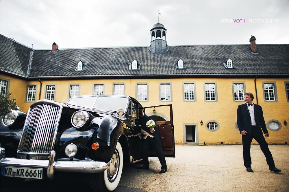 Hochzeit auf Schloß Dyck in Jüchen