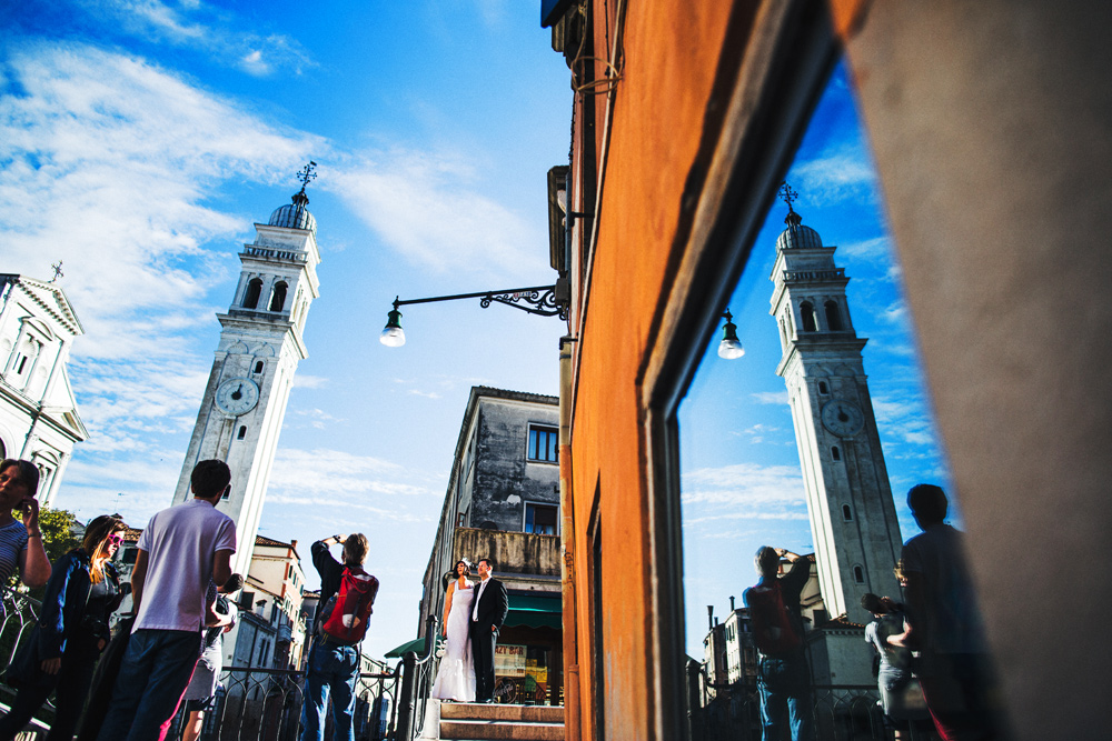 Hochzeitsfotograf in Venedig