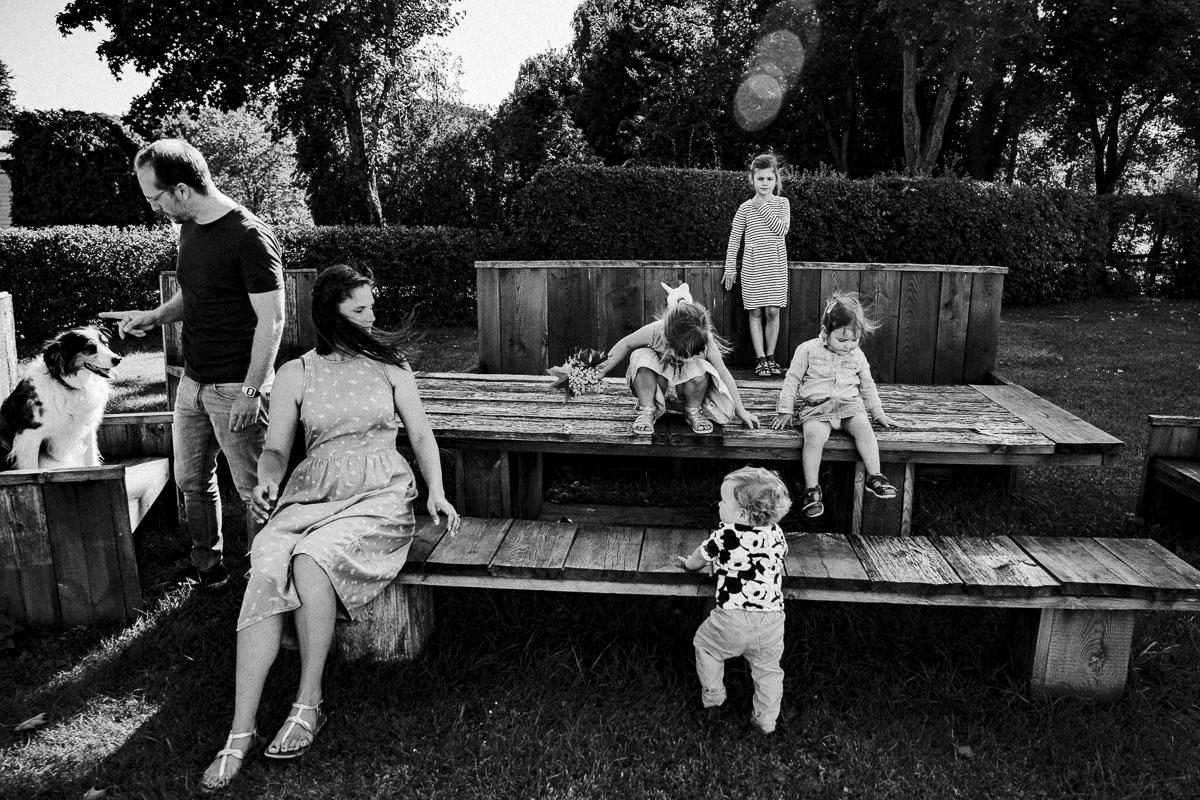 Dokumentarische Familienreportagen und Familienfotografie