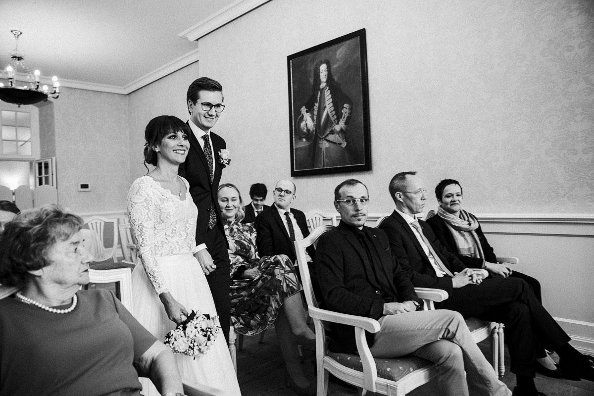 Hochzeitsfotograf Standesamtliche Trauung im Hotel Gräflicher Park
