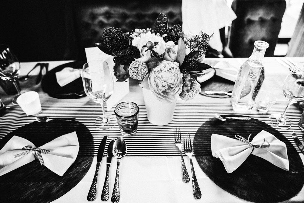 Schwarz Weiß Hochzeit Bad Salzuflen Hochzeitsfotograf Artur Voth