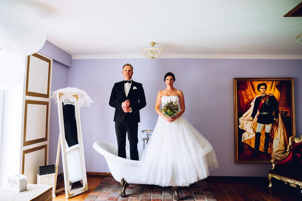 Hochzeitspaar Landhotel Beverland
