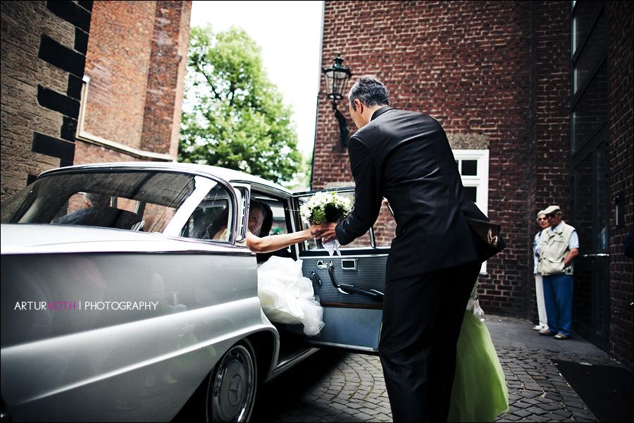 Deutsch-Italienische Hochzeit in Düsseldorf