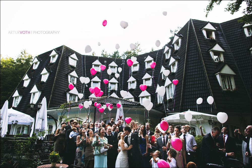 Hochzeitsreportage in Hamburg  (Waldhaus Reinbek)