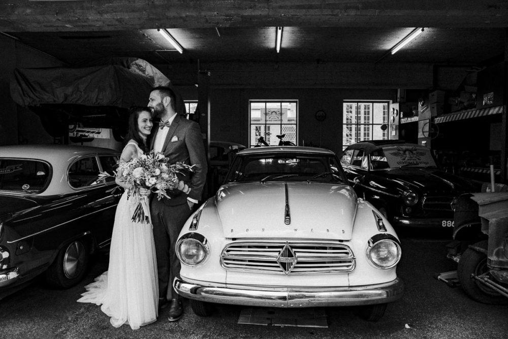 Hochzeit im Kabelwerk B64 Oldtimer