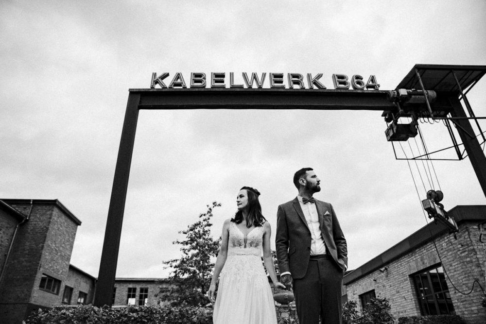 Hochzeit im Kabelwerk B64 Hochzeitsfotos