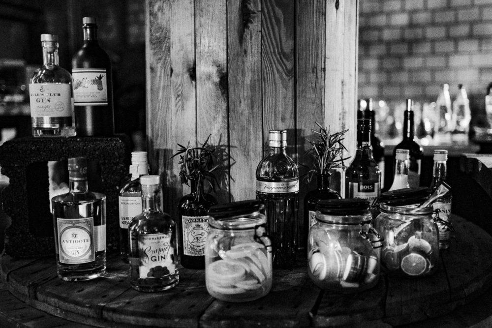 Hochzeit im Kabelwerk B64 Gin