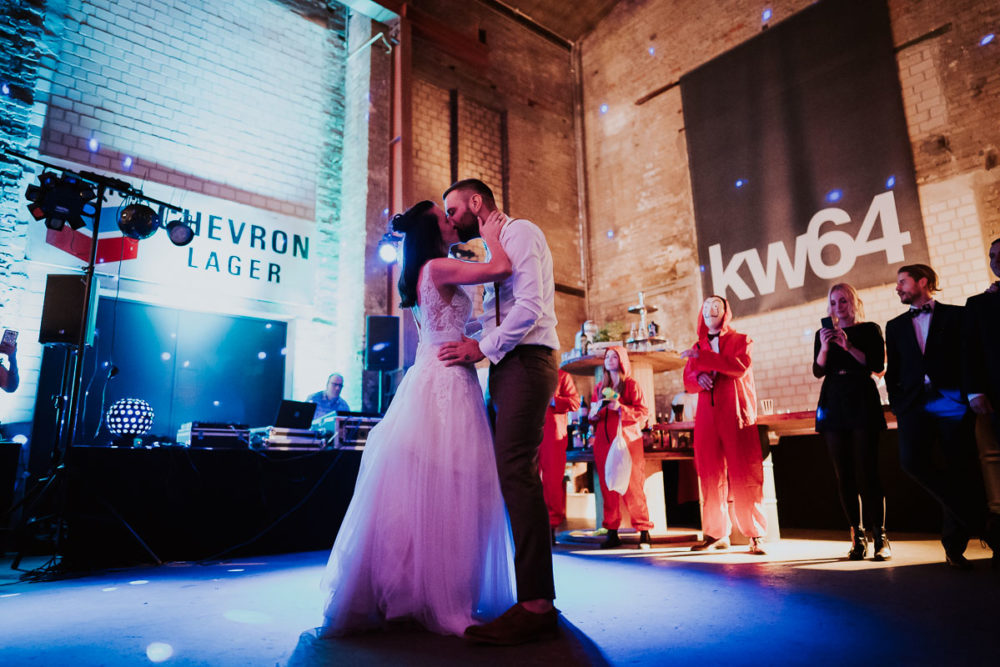 Hochzeit im Kabelwerk B64 Hochzeitstanz